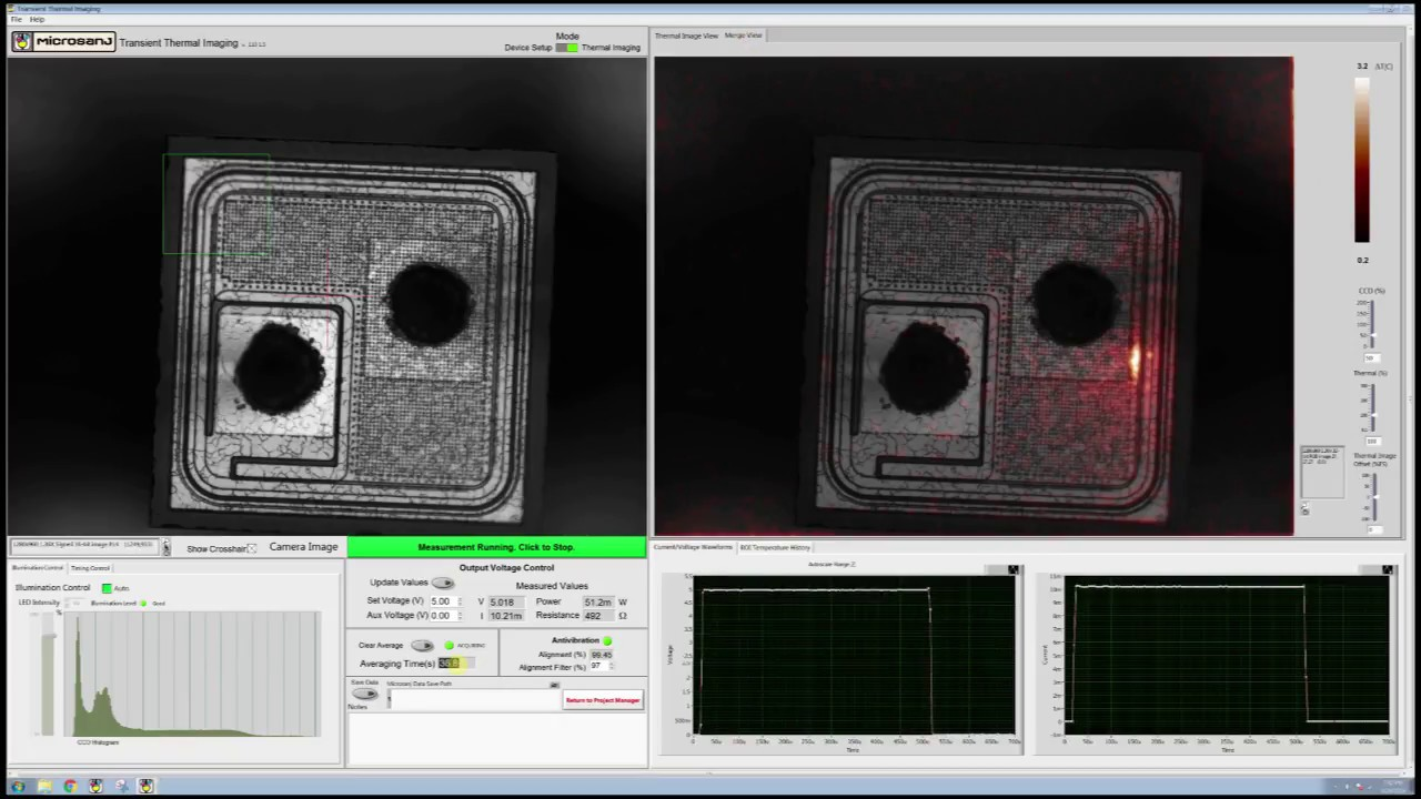 Microsanj Fa Tutorial Locating A Defect In Silicon Diode With Sub Diodes History Micron Spatial Resolution