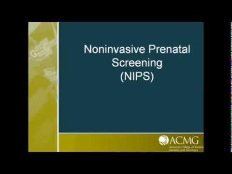 Noninvasive Prenatal Screening