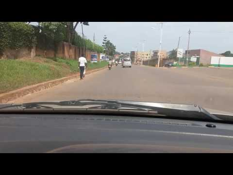 Drive through Kampala kibuli