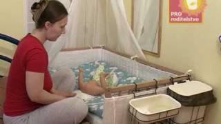 Развивающий уход: пеленание и как уложить спать малыша