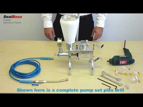 SEALBOSS-P2002-PUMP, Epoxy Injection Pump, Polyurethane Injection Pump, Crack Injection Pump