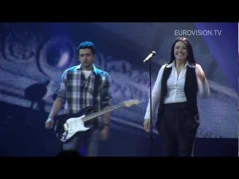 Kaliopi - Crno I Belo (F.Y.R. Macedonia) 1st Rehearsal Travel Video
