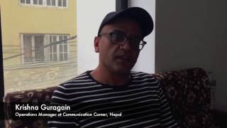 Interview with Communication Corner, Nepal