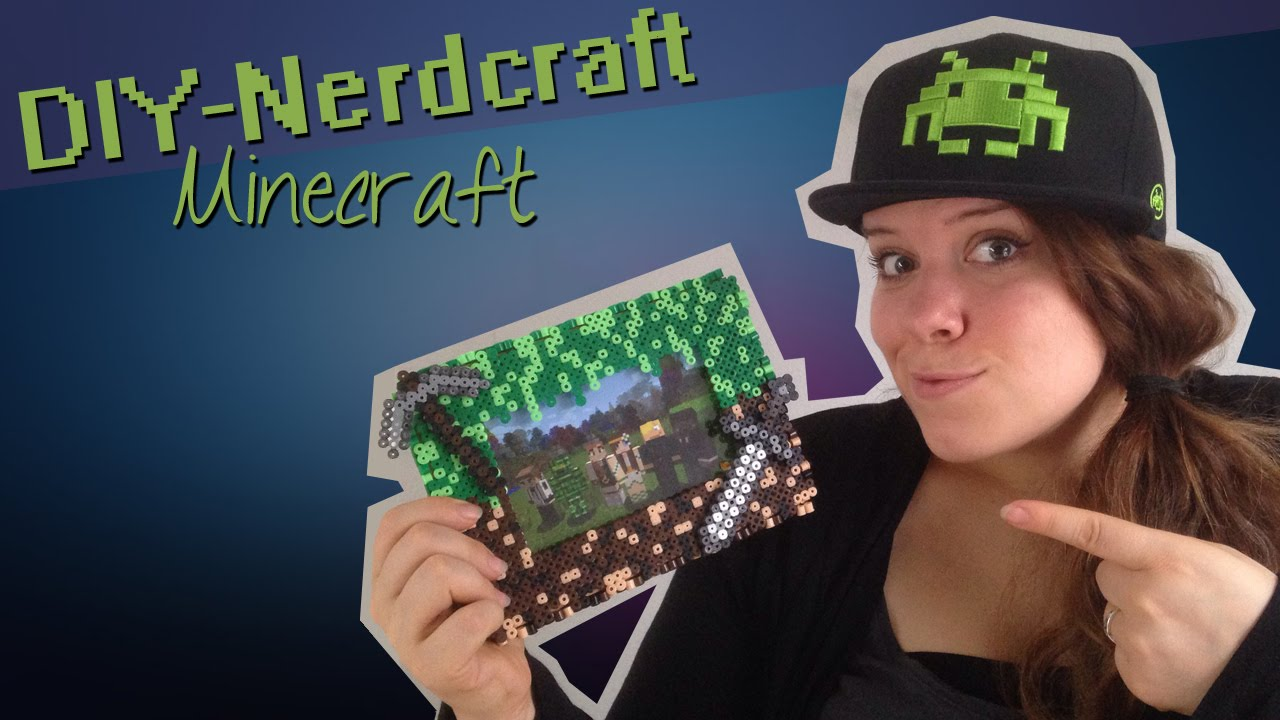 Epischer Minecraft Bilderrahmen Fur Dich Fees Diy Nerdcraft Youtube