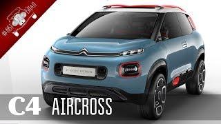 Новый Citroen C4 Aircross 2018 года / НОВИНКИ АВТО 2018 Часть 2