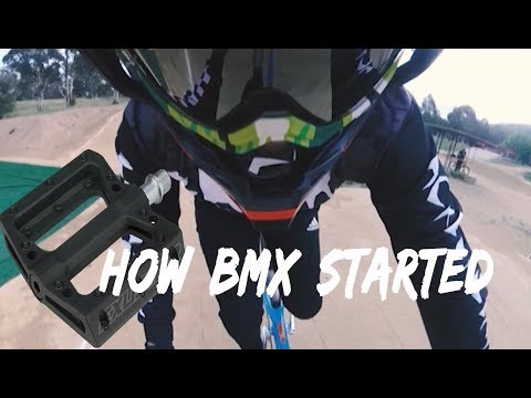 WHY NO ONE RIDES FLAT PEDALS ANYMORE (BMX RACING)