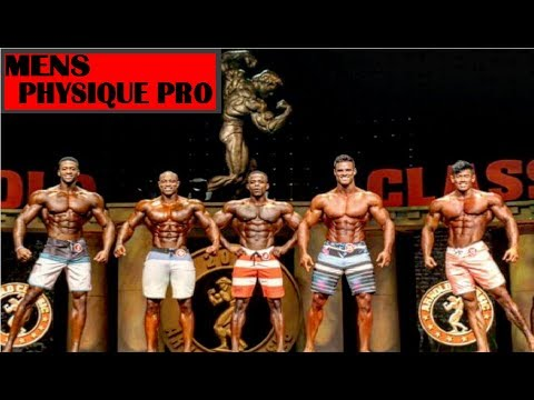 ARNOLD CLASSIC 2018 MENS PHYSIQUE PRO   FULL