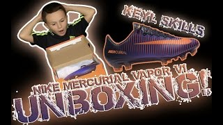NIKE MERCURIAL VAPOR XI FLOODLIGHTS PACK UNBOXING | KEYL SKILLS
