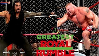 BROCK LESNAR vs ROMAN REIGNS Shocking Things can happen!!! | 50 Man Greatest Royal Rumble Match!!! |