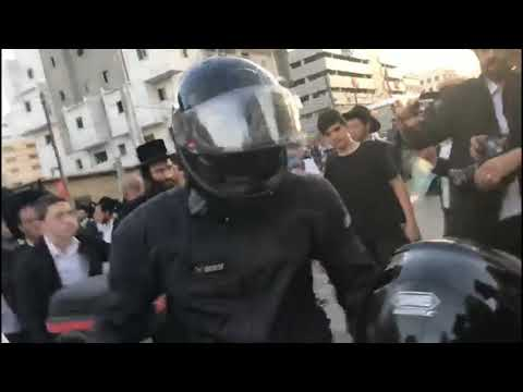 Peleg Protests In Bnei Brak