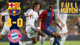 Relive the 2006 joan gamper trophy that kicked off 2006/2007 season. spectacular match with eto'o, ronaldinho, xavi and many more barça legends.subscribe...