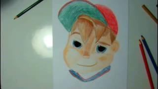 Speed Drawing: Alvinnn( Alvinnn and the chipmunks)_Naseem Sabbah 2017