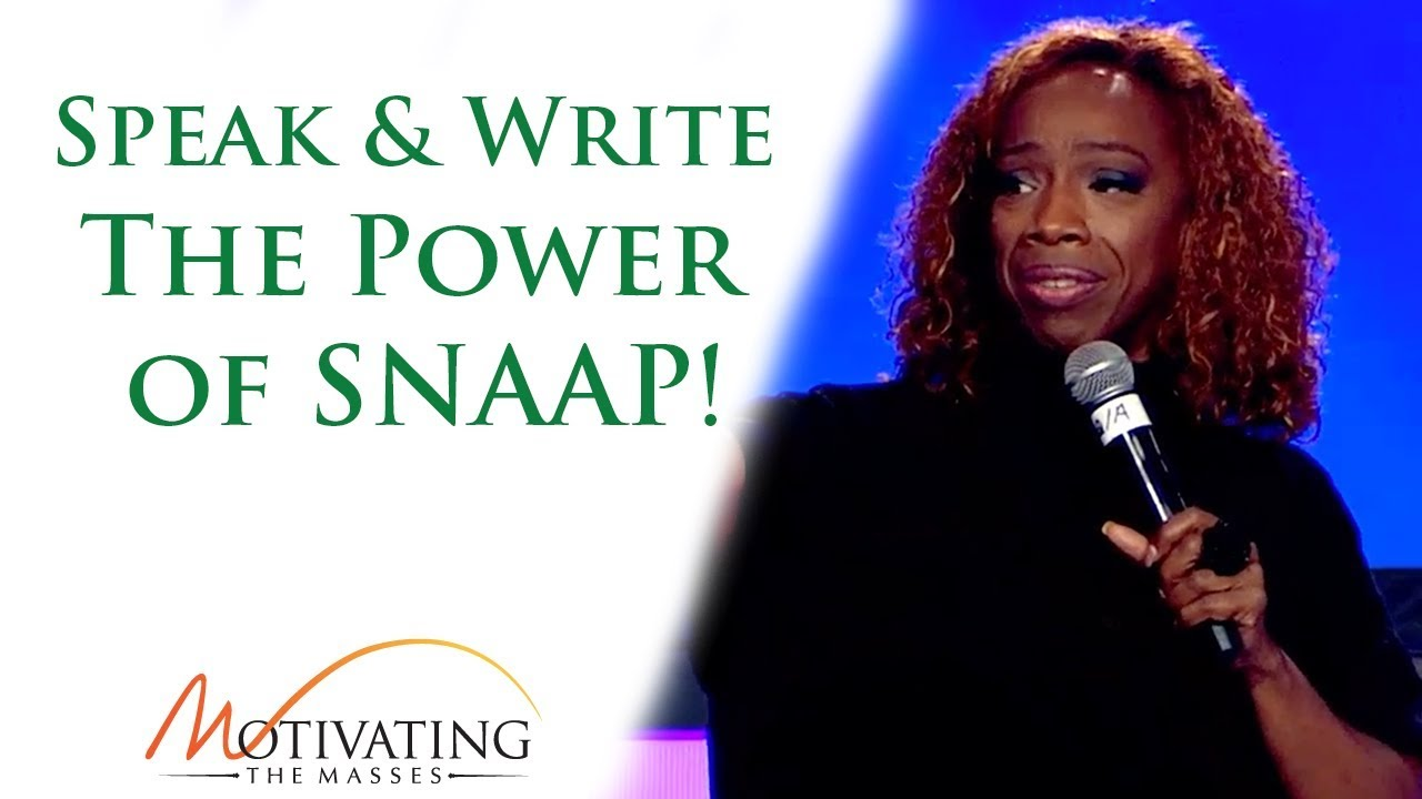 Speak & Write - The Power of SNAAP!