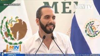 Nayib Bukele Discurso Completo en México con el Presidente Andrés Manuel Lopez Obrador