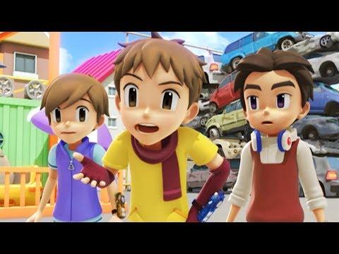 TOBOT English | 114 Hot Rods and Heroes | Season 1 Full Episode | Kids Cartoon | Kids Movies