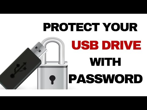 How To Secure USB Drive With Password