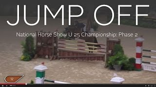 Jump Off: National Horse Show U 25 Championship Second Competition