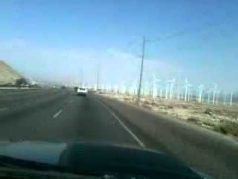 wind turbines in palm Springs CA