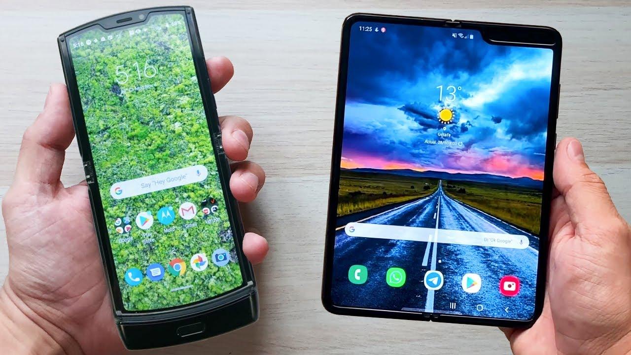 Motorola Razr 2019 vs Samsung Galaxy Fold