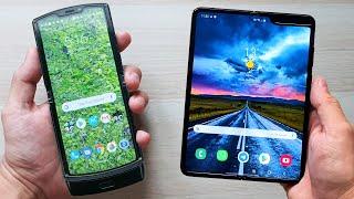 Motorola RAZR 2019 vs Samsung GALAXY FOLD | Comparativa FLEXIBLE!!