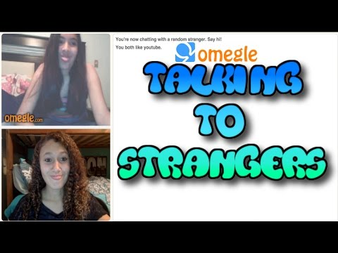 Talking To Strangers on Omegle..
