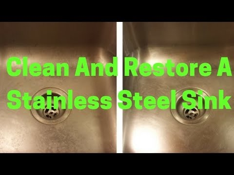 Bar Keepers Friend Cleans Stainless Steel Sink, Restore, Clean And Polish Stainless Steel And Metal.