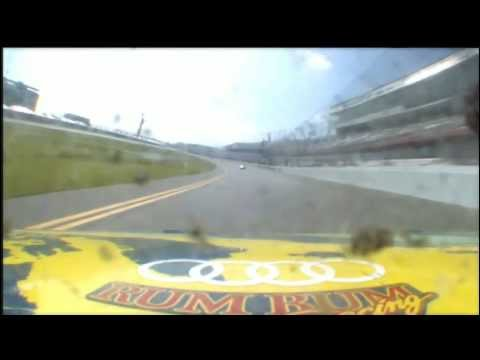 Grand Am Rolex 24 Onboard RumBum Racing Audi R8