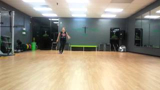Hit me up. By Gia Farrell.  Dance FITNESS choreo