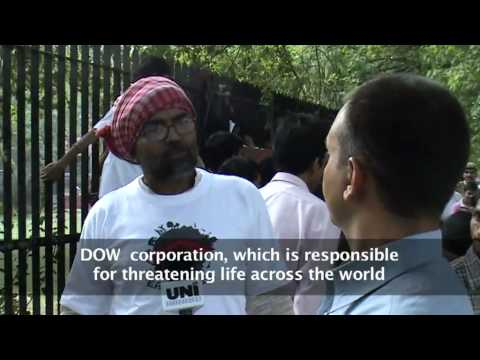 Bhopal Groups Subvert Dow-funded Live Earth Run for Water in Delhi. 18 April 2010.