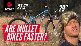 Are Mullet Bikes Faster?   Is Mixed Wheel Size Better For MTB?