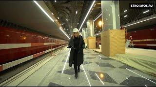 Прямо сейчас: строится станция метро \