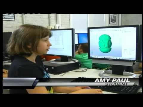 Fab Lab 3D Printing for Kids