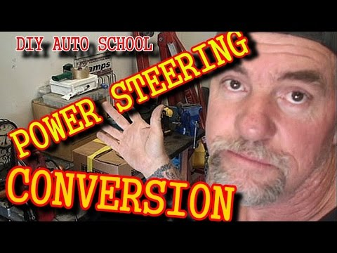 How To Put Power Steering In A Classic Ford Mustang - Part 1