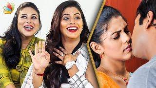 How do we Shoot Kissing Scenes ? : Iniya Sisters Interview   Thara
