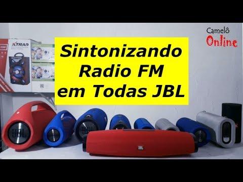Aprenda Sintonizar Radio FM em Quauer Caixa de Som JBL Replica