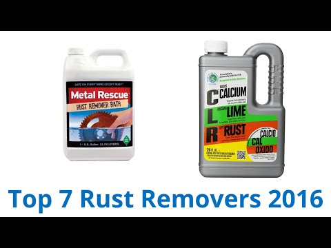 7 Best Rust Removers 2016