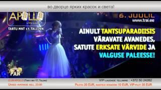 TANTSUPARADIIS 42 (Танцевальный Pай 42) - 6.juulil 2012 Club APOLLO reklaam