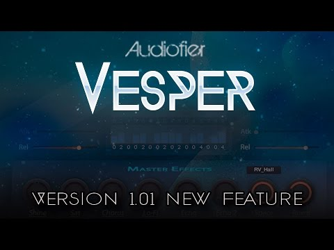 VESPER for Kontakt 5.5. - V1.01 New feature