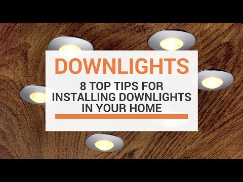 8 top tips when installing downlights in your home youtube Kitchen Wiring Drawing