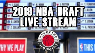 2019 NBA Draft Live Stream Watch Party - Sporting Logically