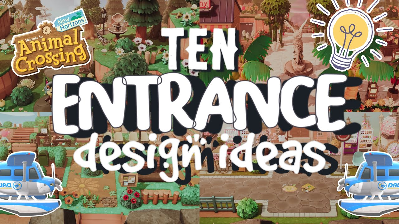 Download 10 IDEAS💡 FOR YOUR ISLAND ENTRANCE!!! // ANIMAL CROSSING NEW HORIZONS