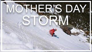 Ski The Whites: Mother's Day Storm 2017