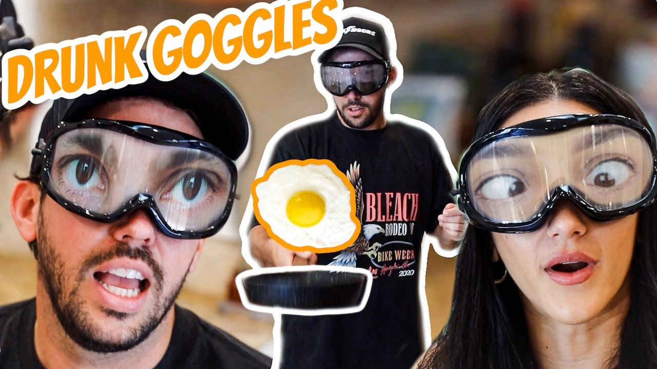 COUPLES DRUNK GOGGLE CHALLENGE!!