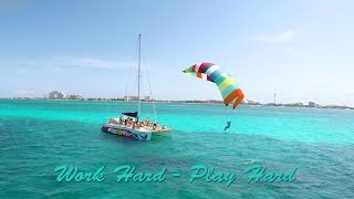 Cancun Mexico - Riding the Spinnaker a Catamaran tour of Isla Mujeres