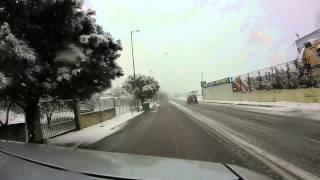 Snow 10.2.2015 Ano Liosia