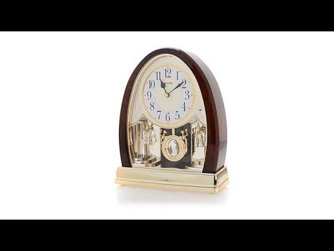 RHYTHM Joyful Hymns Crystal Bells Clock