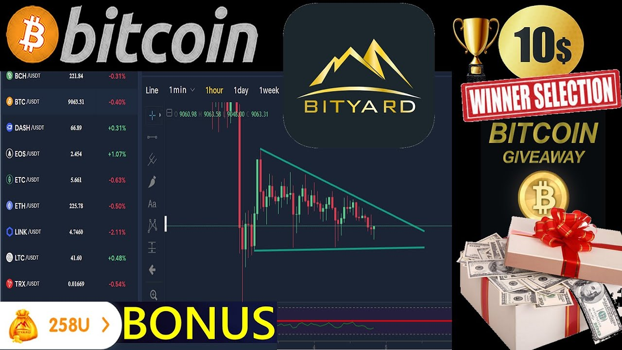 LIVE Bitcoin Price UPDATE - 🔥💰Weekly 10$ BTC Giveaway WINNER SELECTION !!💰🔥