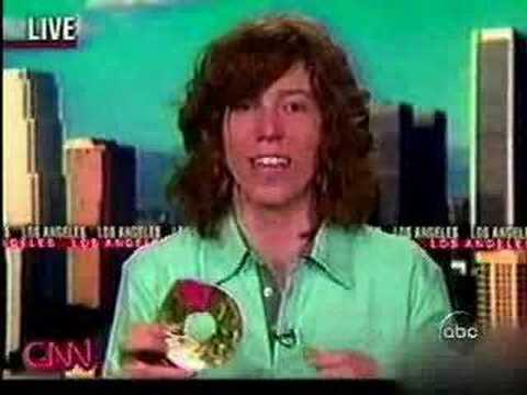 Shaun White on CNN - I'm Talking About Mountain Dews Baby