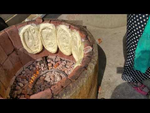 Гуниб хлеб в тандыре