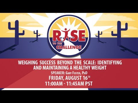 Weighing Success beyond the Scale: Identifying and Maintaining a Healthy Weight